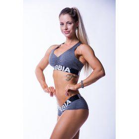 Bustiera fitness Nebbia, Gri