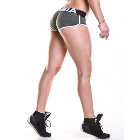 Pantaloni scurti fitness Nebbia, Kaki