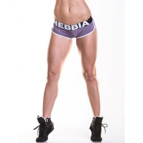 Pantaloni scurti fitness Nebbia, Violet