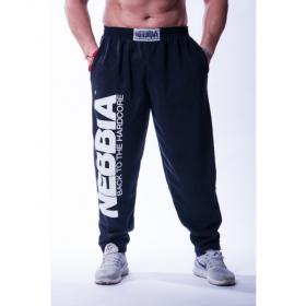 Pantaloni lungi hardcore Nebbia, Negru