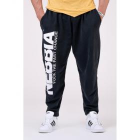 Pantaloni lungi Nebbia, Beast Mode One, Negru